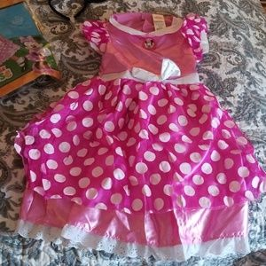 Minnie mouse costume NWOT